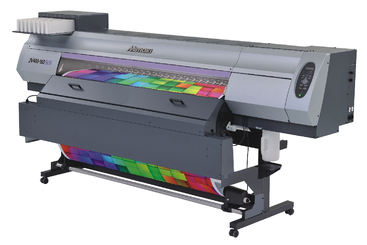 Mimaki JV400-SUV - Solvent / UV Printer